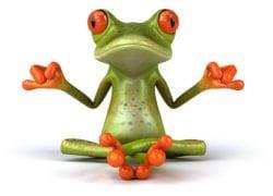 TRUE creative services frog