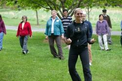 Learning the Tai Chi Walk