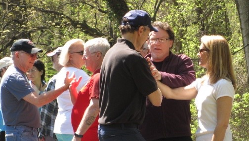 Workshop with Stephen J. Goodson August 18 and 25, 2018: Building Push Hands Skills
