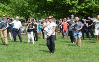 World Tai Chi and Qigong Day-Fairfax County, Vienna VA April 2020