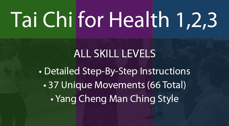 Online Tai Chi Classes—taught step-by-step. Tai Chi is known to Increase balance, relieve stress and anxiety, boost your immune system, prevent and reverse health conditions related to aging! A great practice for fall prevention, arthritis, and Parkinson's.
