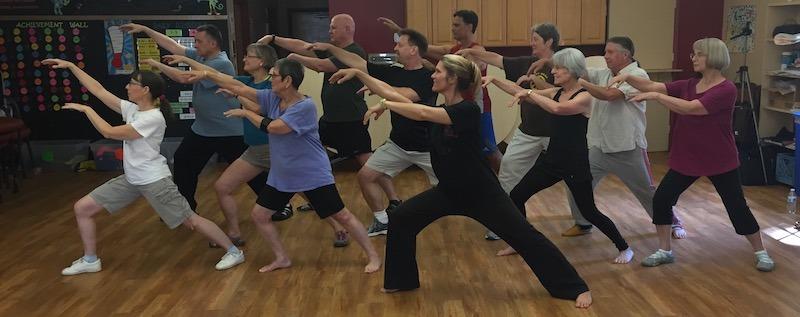 Tai Chi Shen Gong Qigong classes for health