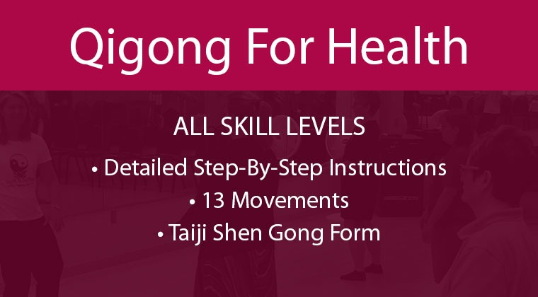 Online Qigong Classes—taught step-by-step. Qigong is known to Increase balance, relieve stress and anxiety, boost your immune system, prevent and reverse health conditions related to aging! A great practice for fall prevention, arthritis, and Parkinson's.